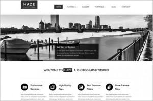 Haze is a creative WordPress Theme