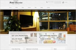 Hotel Classica is a premium WordPress Theme