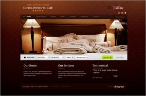 HotelPress is a premium WordPress Theme