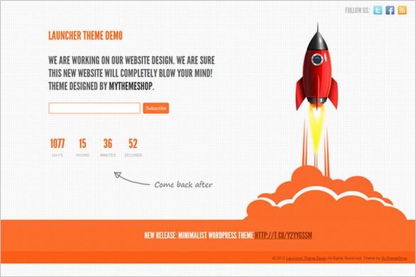 Launcher is a free GPL WordPress Theme by MyThemeShop