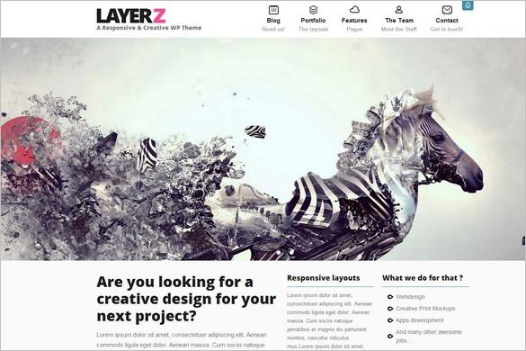 LayerZ is a Creative Responsive WordPress Theme