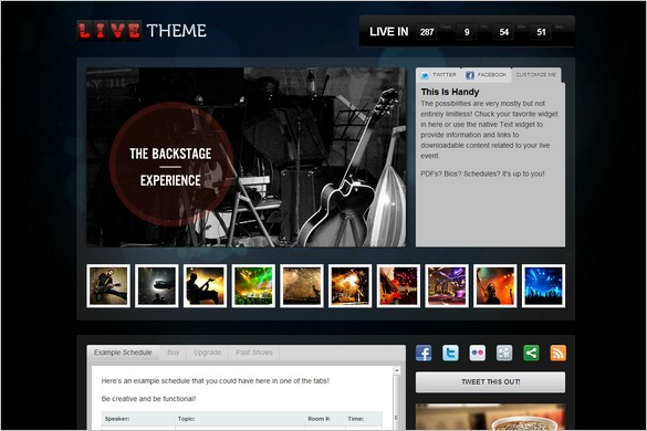 Live Theme is a Streaming Video WordPress Theme