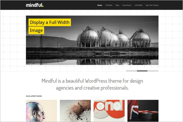 Mindful is a WordPress Theme by Theme Trust