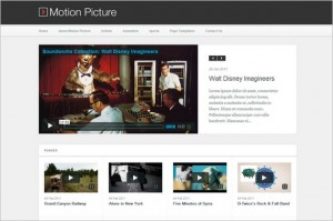Motion Picture is a Video WordPress Theme