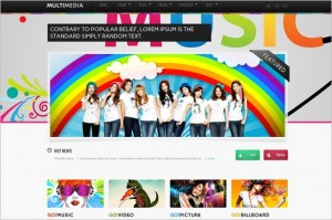 Multimedia is a video and music WordPress Theme