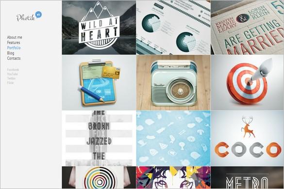 Photik is a Responsive Portfolio & Blog WordPress Theme