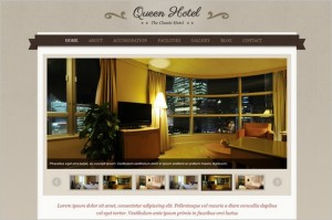 Queen Hotel is a elegant premium WordPress Theme