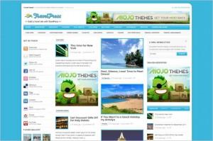 TravelPress is a free WordPress Theme