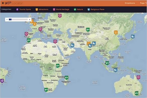 WPLocator is a Travel WordPress Theme