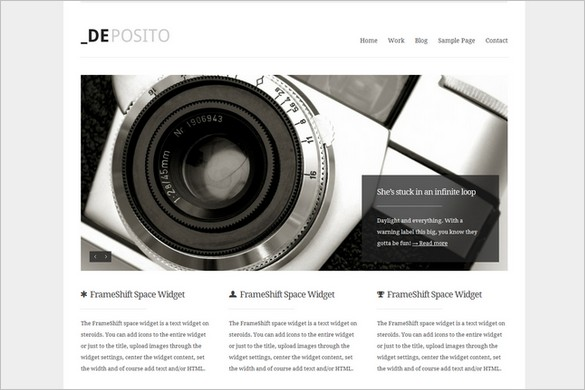 dePosito is a WordPress Theme by ThemeShift