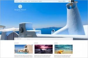 Aegean Resort WordPress Theme from cssigniter