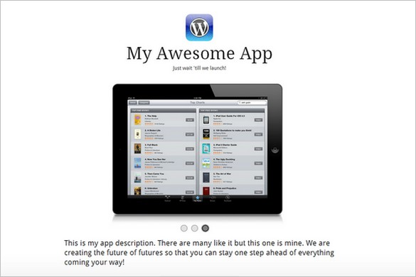 AppifyWP Launchpad is a free WordPress Theme