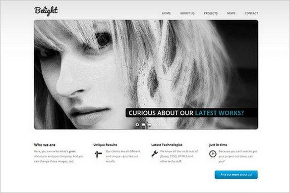 Belight is a business & portfolio WordPress Theme
