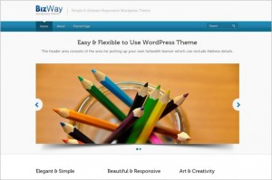 BizWay is a free WordPress Theme by InkThemees