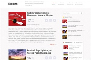 Boxline is a Magazine WordPress Theme by MyThemeShop
