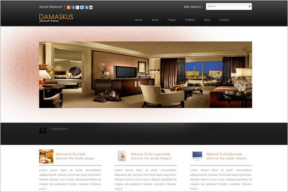 Damaskus is a Free WordPress theme by DynamicFreeThemes