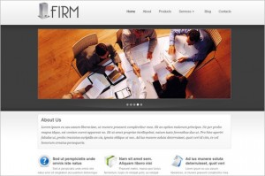 Firm is a business WordPress Theme