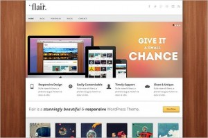 Flair is a Business WordPress Theme