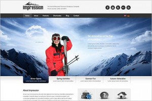Impression is a Business and Corporate WordPress Theme