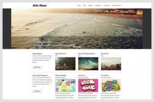 Intro is a portfolio WordPress Theme