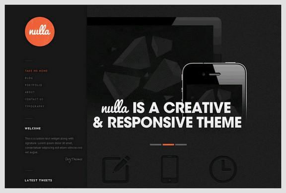 Nulla is a Portfolio & Blog WordPress Theme