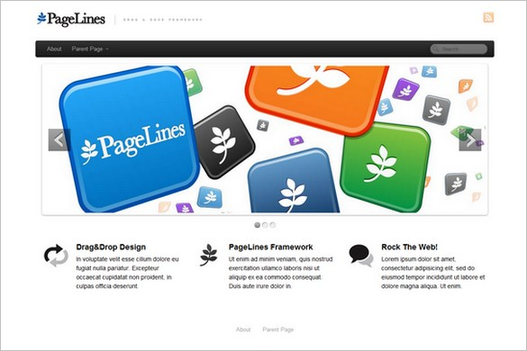 PageLines is a free WordPress Theme