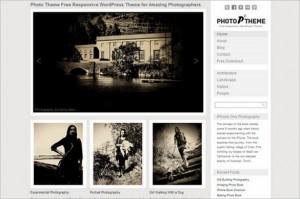 Photo Theme Responsive is a free WordPress Theme by Dessign.net