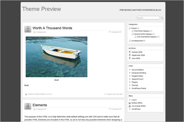 Suffusion is a free WordPress Theme