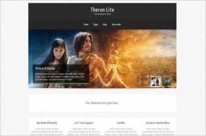 Theron Lite is a free WordPress Theme by Towfiq I