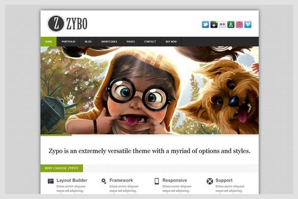 Zypo is a Portfolio and Business WordPress Theme