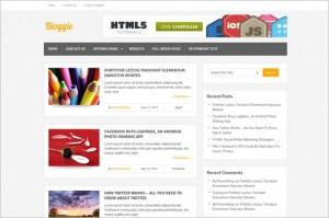 Bloggie Free WordPress Theme by MyThemeShop