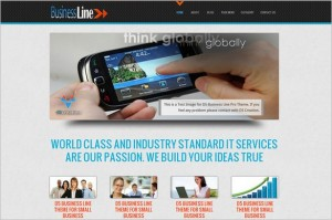 D5 Business Line is a free WordPress Theme by D5 Creation