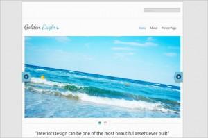 Golden Eagle Lite is a a free WordPress Theme