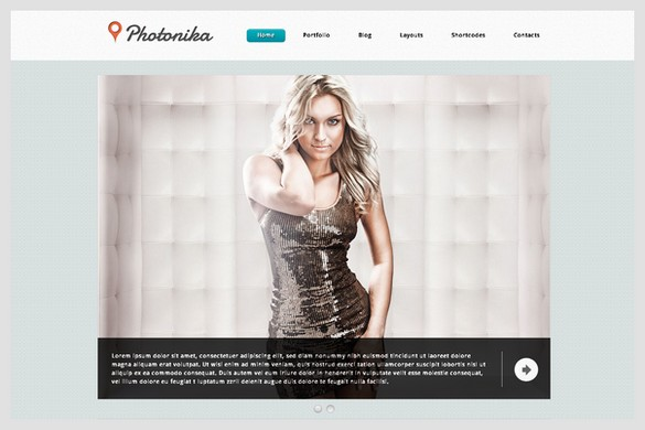 Photonica is a Photographer WordPress theme