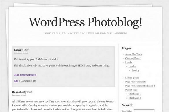 Stack is a free WordPress Theme