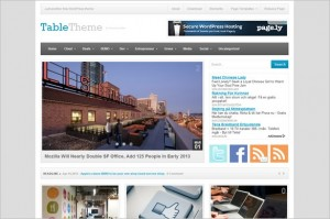 Table is a free WordPress Theme by Theme Junkie