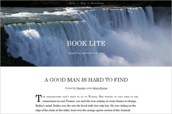 Book Lite is a free WordPress Theme