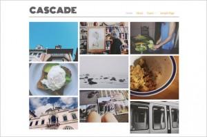 Cascade is a f ree Portfolio WordPress Theme by the Alpine Press