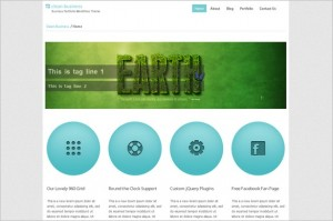 CleanBusiness is a free WordPress Theme by EGrappler