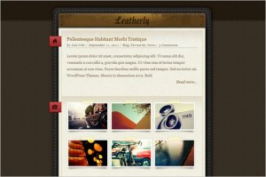 Leatherly is a free one page WordPress Theme by ColorLabs