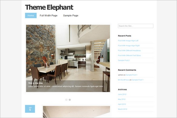 Perolia is a free WordPress Theme by ThemeElephant