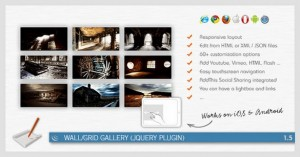 Wall/Grid Gallery is a customizable jQuery Plugin