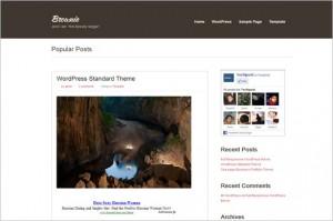 Brownie is a free WordPress Theme
