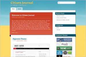 Citizen Journal is a free WordPress Theme