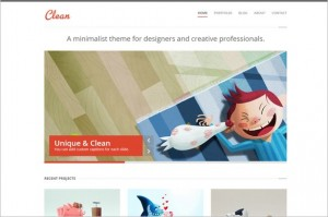 Clean is a WordPress Theme by ThemePURE