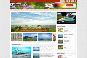 Connerus is a free WordPress Theme