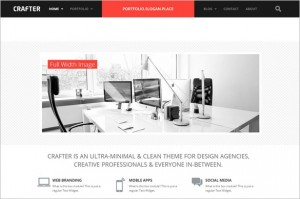 Crafter is a WordPress Theme by ThemePURE
