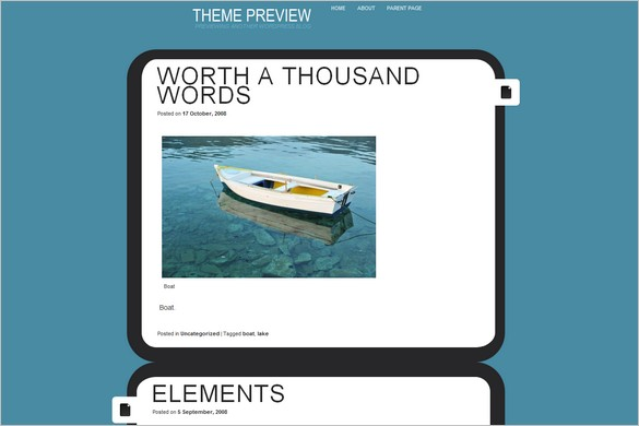 Eureka is a free WordPress Theme