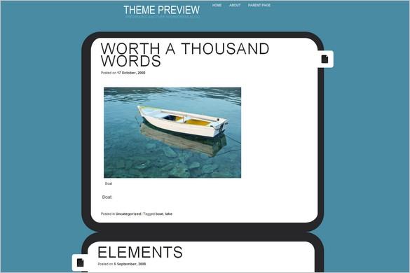Eureka is a free WordPress Theme