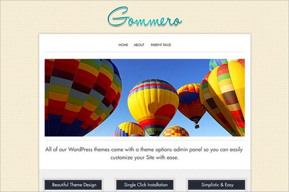 Gommero is a free WordPress Theme